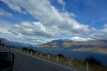 Photo from the Road While Hitchhiking into Queenstown