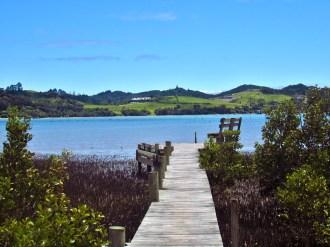 Dock at Orongo Bay
