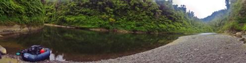 Whanganui River Packraft Panorama