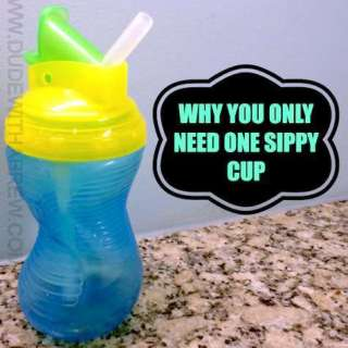 one sippy cup