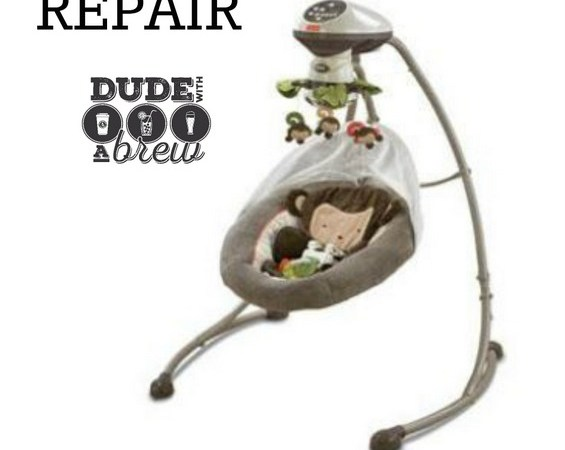 DIY BABY SWING REPAIR