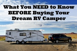 before you buy a camper