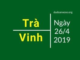 dự đoán xstv ngày 26/4/2019