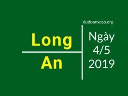 dự đoán xsla ngày 4/5/2019