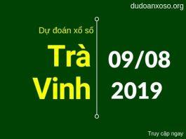 dự đoán xstv hôm nay ngày 9/8/2019