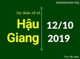 dự đoán xshg ngày 12/10/2019