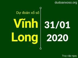 dự đoán xsvl 31/1/2020