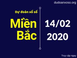 dự đoán xsmb 14/2/2020