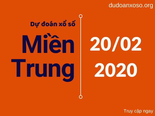 dự đoán xsmt 20/2/2020