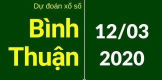 dự đoán xsbth 24h 12/3/2020