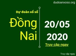 du doan xsdn 20/5/2020