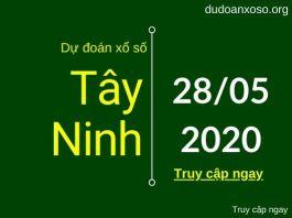 dự đoán xstn 28/5/2020