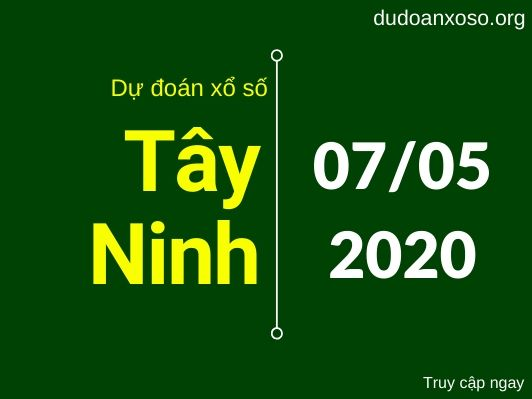 du doan xstn 7/5/2020