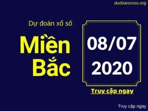 Dự đoán xsmb 8/7/2020