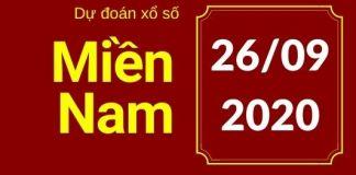 Dự đoán XSMN 26/9/2020