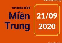 Dự đoán XSMT 21/9/2020