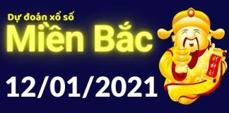 Dự đoán XSMB 12/1/2021