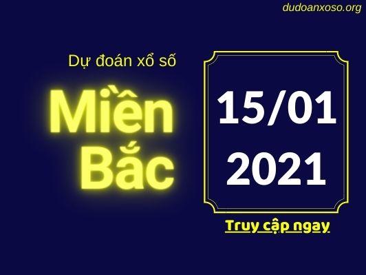 Dự đoán XSMB 15/1/2021