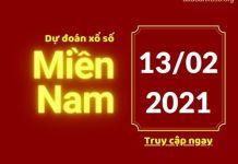 Dự đoán XSMN 13/2/2021