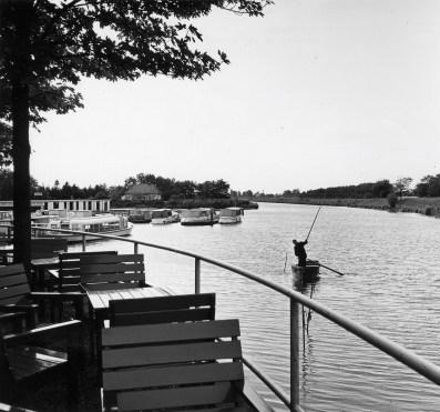 Paviljoen Wildschut, Hilversum. Zicht op haven