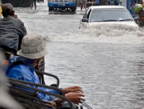 Flood in Muara Baru, Jakarta