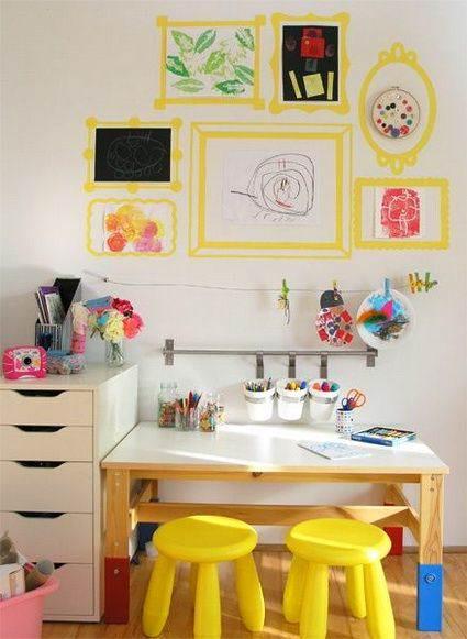 Ideas para decorar y organizar zonas de estudio infantiles