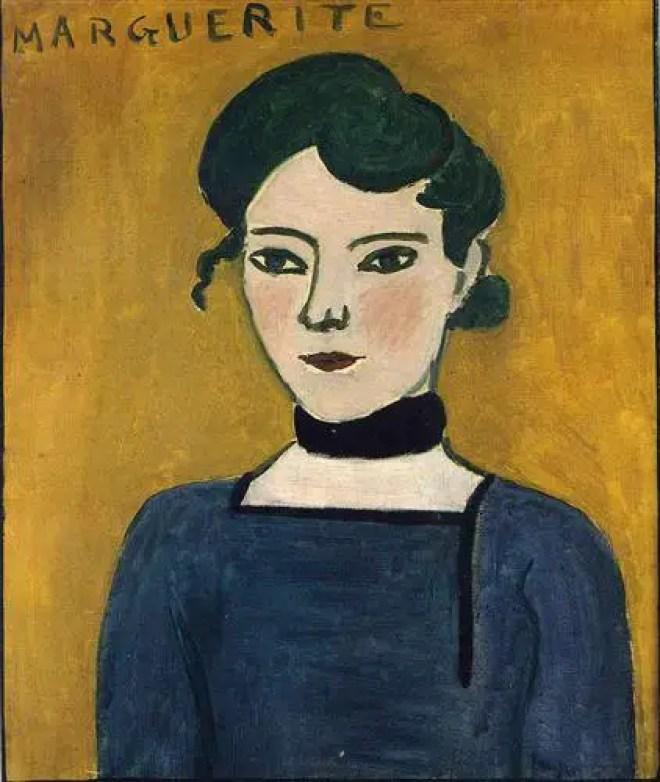 Henri Matisse, Marguerite. 1907, 65 x 54 cm, Paris, musée Picasso