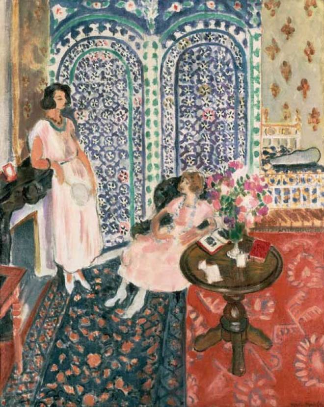 Henri Matisse, Moorish Screen