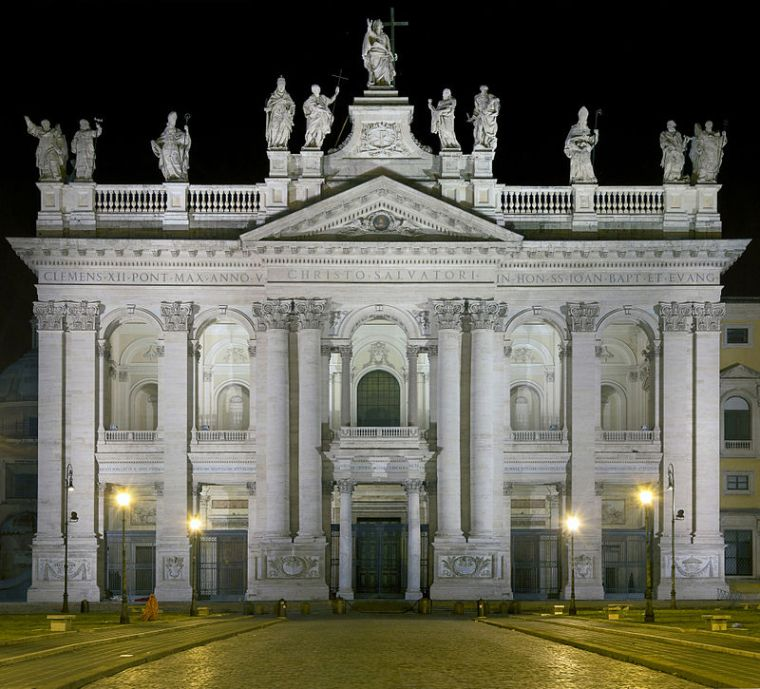 Borromini, basilica di San Giovanni in Laterano, Roma