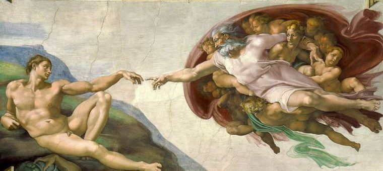 Michelangelo Buonarroti, Creazione di Adamo