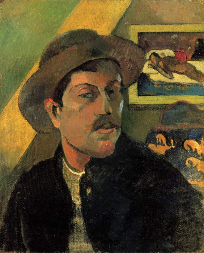 Paul Gauguin, Autoritratto del 1893, Musée d'Orsay, Parigi