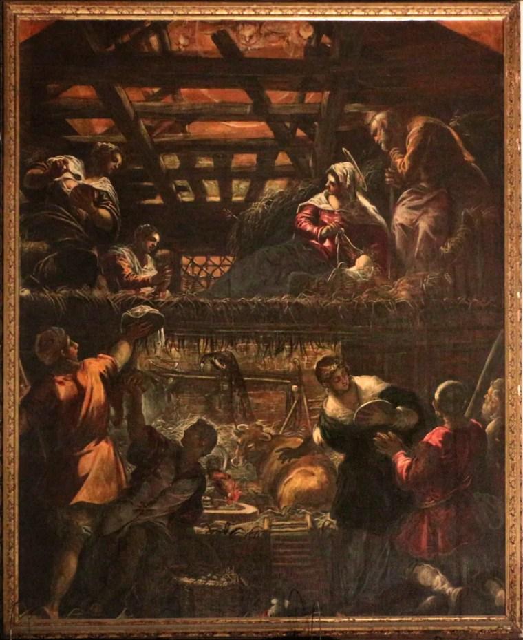 Jacopo Tintoretto, Storie del Nuovo Testamento, Natività, 1578-1581