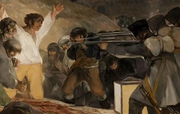 Francisco Goya, 3 maggio 1808 (dettaglio)