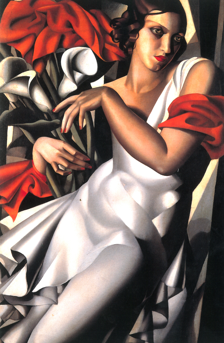 Tamara de Lempicka, ritratto di Madame Perrot, 1931
