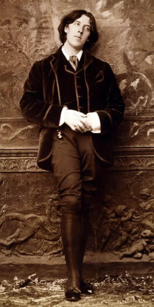 Oscar Wilde, Dandy