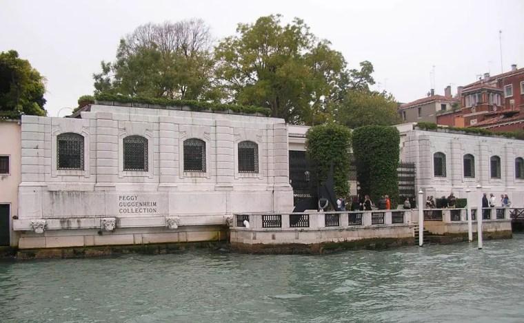 Il palazzo Venier dei Leoni, sede della collezione Peggy Guggenheim