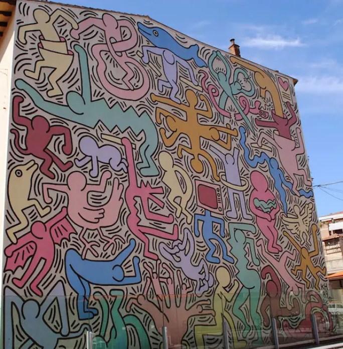 Keith Haring, Tuttomondo, Pisa, 1989