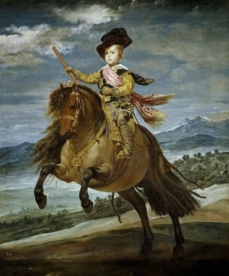 Diego_Velazquez_ritratto-principe-baltasar-cavallo_vita_opere_riassunto_due-minuti-di-arte