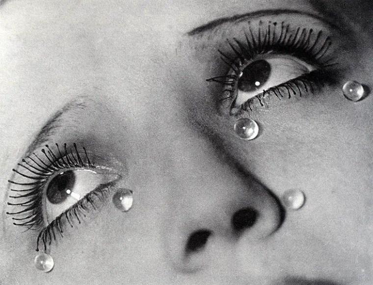 Man Ray, Lacrime di vetro, 1930-1932