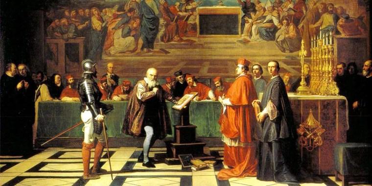 Joseph-Nicolas Robert-Fleury, Galileo di fronte al Sant'Uffizio