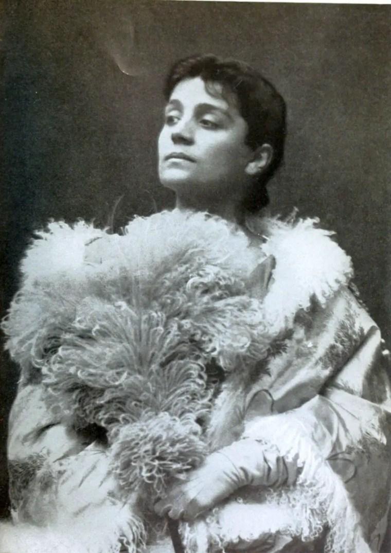 L'attrice Eleonora Duse