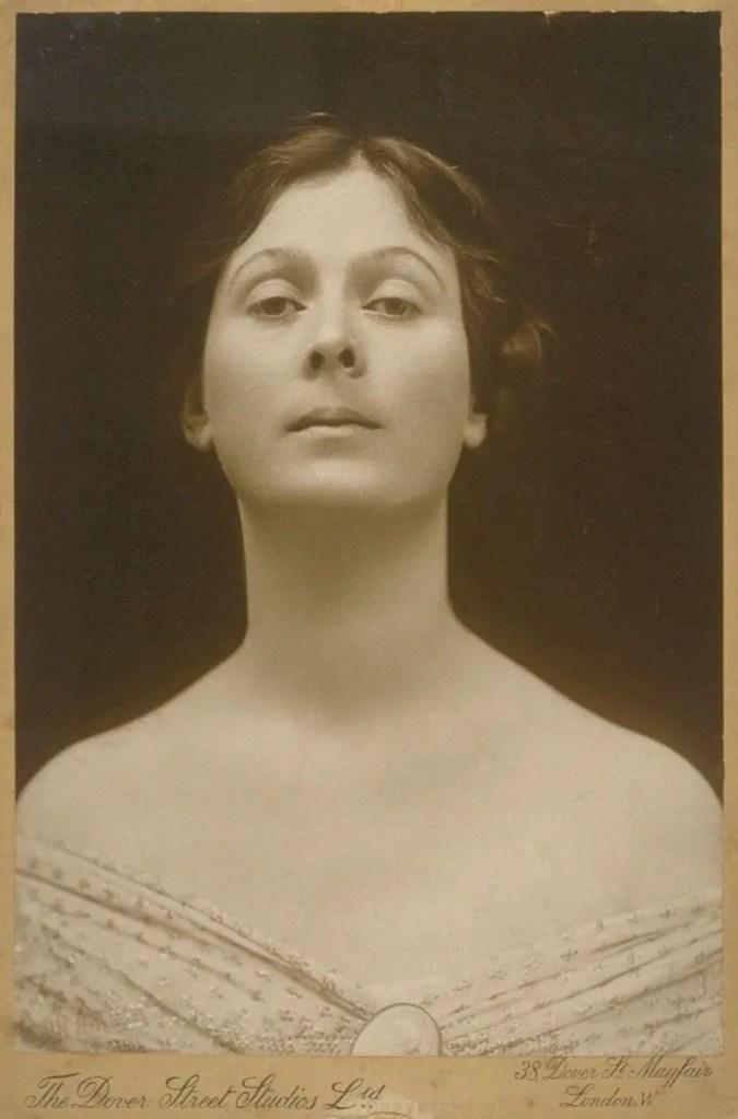 Ritratto di Isadora Duncan, foto