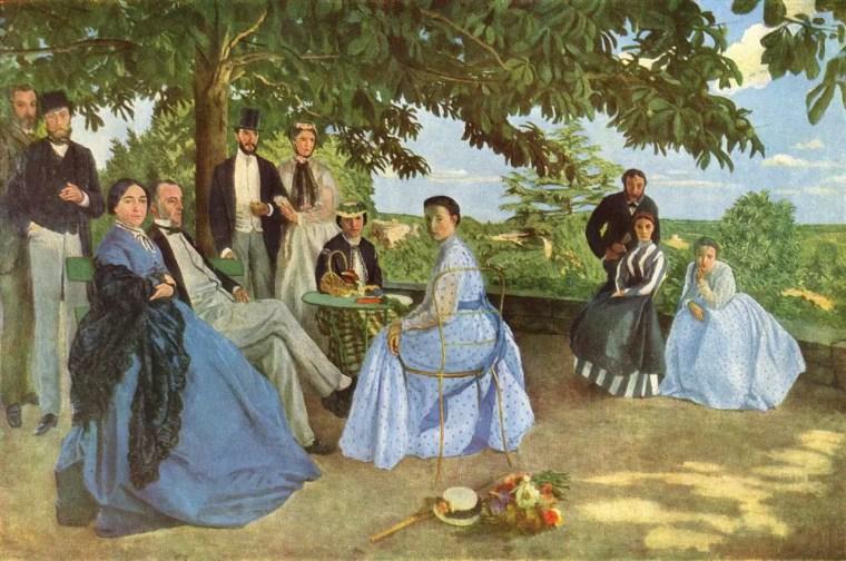 Jean-Frédéric Bazille, La riunione di famiglia