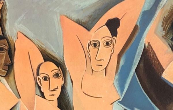 Picasso. les demoiselles de Avignon