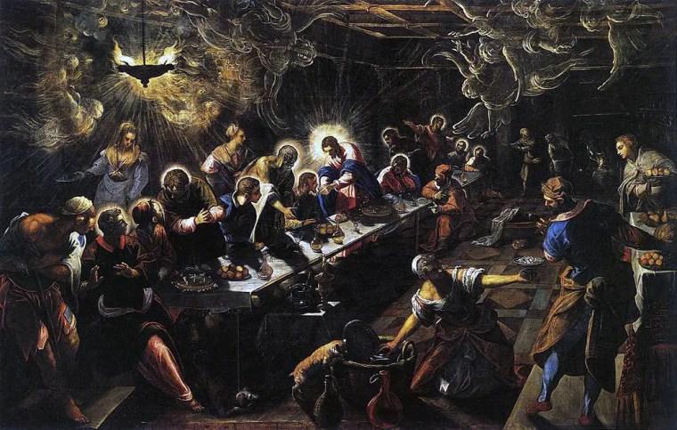 Jacopo Tintoretto, Ultima cena