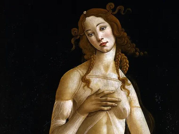 Sandro Botticelli Venere, Galleria Sabauda, Torino