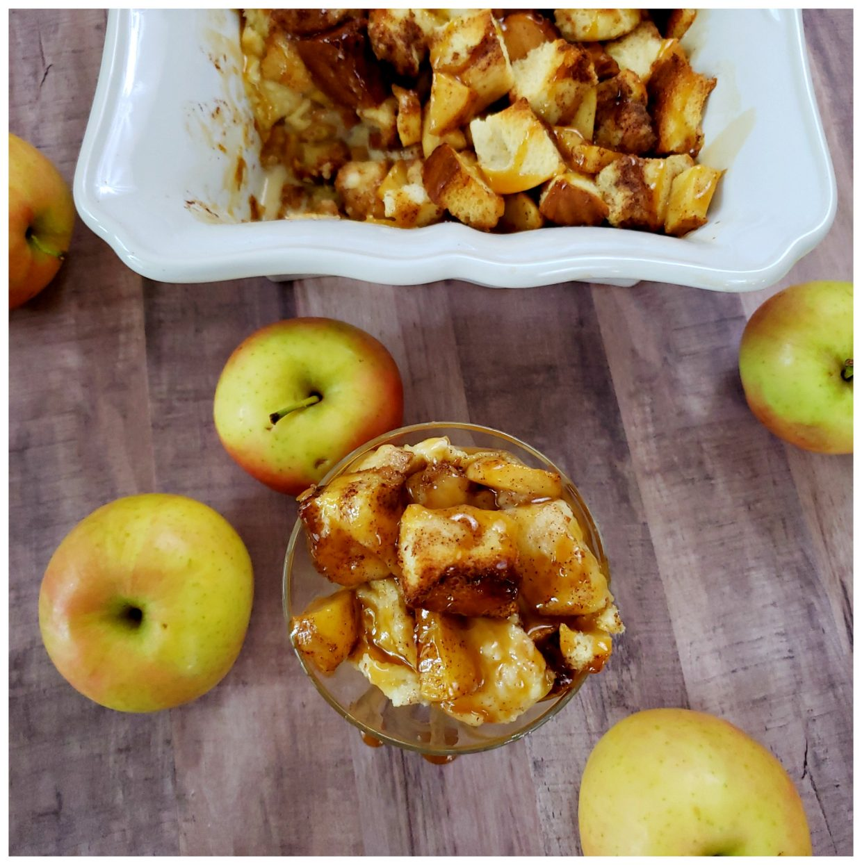 How To Make Apple Pie Bread Pudding
