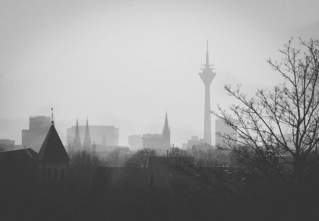 Düsseldorf in Winter