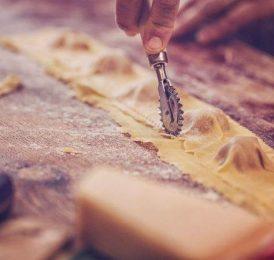Kochschule im Medienhafen Pasta