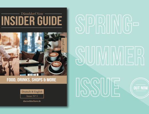 Düsseldorf Now Insider Guide - Spring Summer 2018